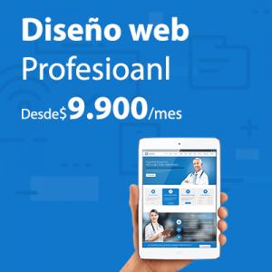 Diseño web de pago mensual