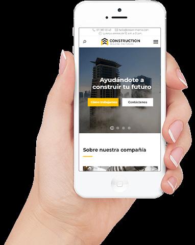 páginas web profesionales adaptables